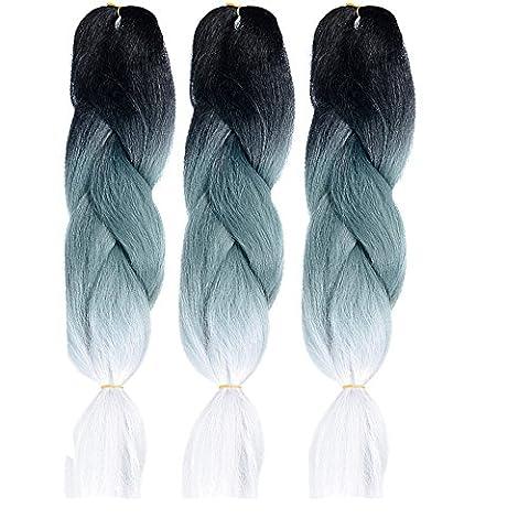 Famille De Quatre Costumes - Emmet 61cm Tresses Tresse synthétique Kanekalon cheveux