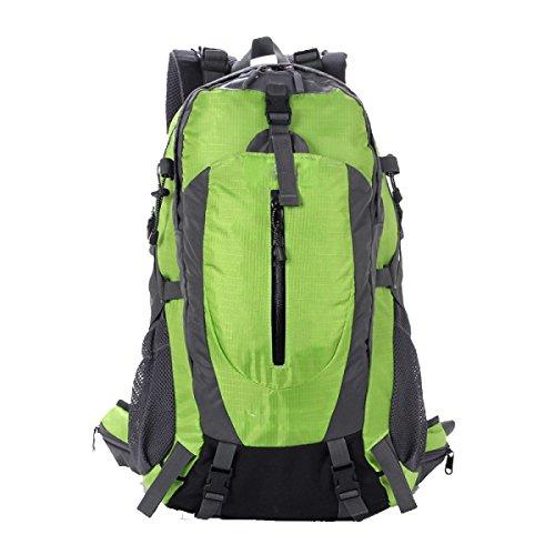 TUOZA Mens Freizeit Bergsteigen Mit Großer Kapazität Rucksack Multifunktions-Reise Green