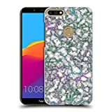 Head Case Designs Jade Adern Schimmerndes Marmor Ruckseite Hülle für Huawei Honor 7C / Enjoy 8