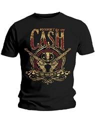 GUNS t-shirt jOHNNY cASH -