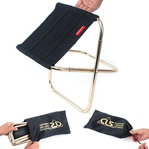 AimdonR Leichte und kompakte faltende kampierende Rucksack-Stühle, tragbar, Breathable und bequem, vervollkommnen für das Wandern/Fischen / kampierend