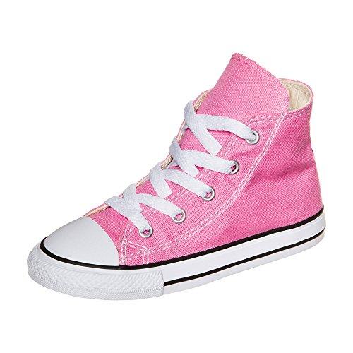 Converse All Star Hi Canvas, Sneaker a Collo Alto Unisex – Bambini Rosa (Rose)