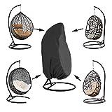Kasla Copertura della Sedia pensile del Patio, Coperture della Sedia Dell'Oscillazione dell'uovo di Vimini Impermeabili, Protezione per mobili Resistente alla Polvere Resistente ai Venti del Vento