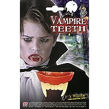 Vampir Zähne Dracula Vampira Damen Filmqualität Gebiss Vampirzähne