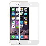 Pomelo Panzerglas Schutzfolie für iPhone 6 iPhone 6s Displayschutzfolie 3D Vollständige Abdeckung 99% Transparenz 9H Hartglas 4.7 Zoll (Weiß)