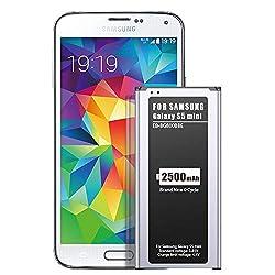 ZMNT 2500mAh Neu Ersatz Akku für Samsung Galaxy S5 Mini (Kompatibel mit Allen Galaxy S5 Mini-Modellen)