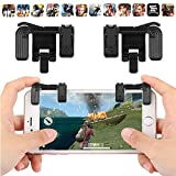 #6: Zantec Mobile Phone Metal Gaming Trigger Fire Button Handle for L1R1 Shoot Controller PUBG