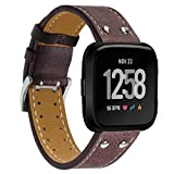 Best Bros Bracelets - Hp95(Tm) For Fitbit Versa Accessories, Replacement Leather Bracelet Review