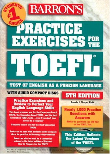 Practice Exercises for Toefl : Test of English as a Foreign Language (6CD audio)