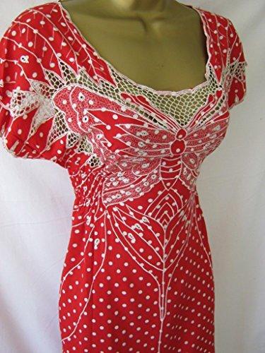 Sugarhill Boutique - Robe - Femme noir noir/rouge/blanc noir/rouge/blanc
