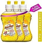 EON PLUS, Super Concentrated Dishwash Gel, Super thick - 1.275L (425 X 3 bottle)