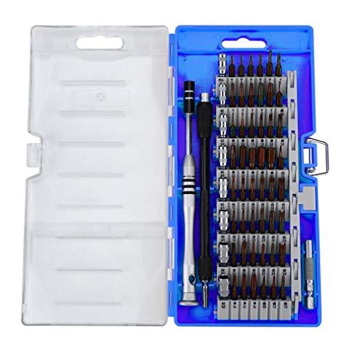 SEN Destornillador 60 en 1 Teléfono móvil Kit de desmontaje Digital Accesorios Azul