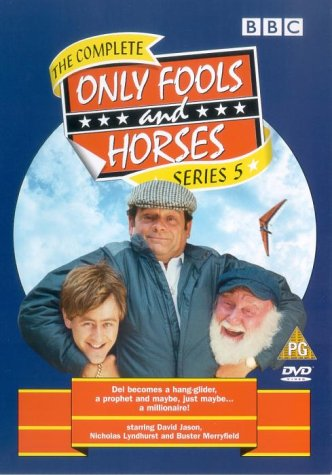 Only Fools and Horses - The Complete Series 5  1986   DVD   1981