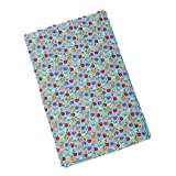 #7: Imported 10x Patterns Printed Cotton Fabric for DIY Craft Sewing Handbag Dolls Blue