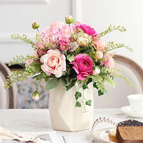 Xue-vase Künstliche Blumendekorative Blume Buds Dekorationsornamente Living Room Table Blume Dekoration Blume Dekoration Einfach Stil Tischblume,A