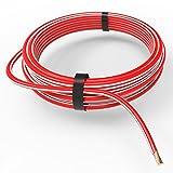 AUPROTEC® Fahrzeugleitung 4,0 mm² FLRY-B als Ring 5m oder 10m Auswahl: 10m, rot-weiß