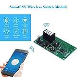 SONOFF Switch Modul SV ITEAD Sichere Spannung DC 5-24 V Wifi Wireless Unterstützung Sekundäre Entwicklung Timing App Steuer Unterstützung Amazon Alexa Home Sprachsteuerung Smart Home