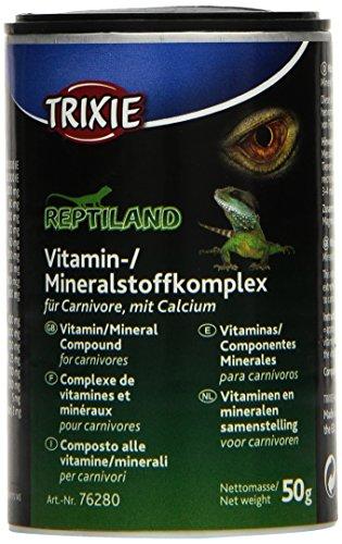 Trixie Vitamin/Mineralstoffkomplex für carnivore Reptilien, 50 g, 3er Pack (3 x 50 g)