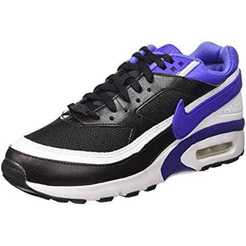 Nike Air Max Bw (GS), Zapatillas de Running para Hombre, Negro (Black / Persian Violet-White), 40