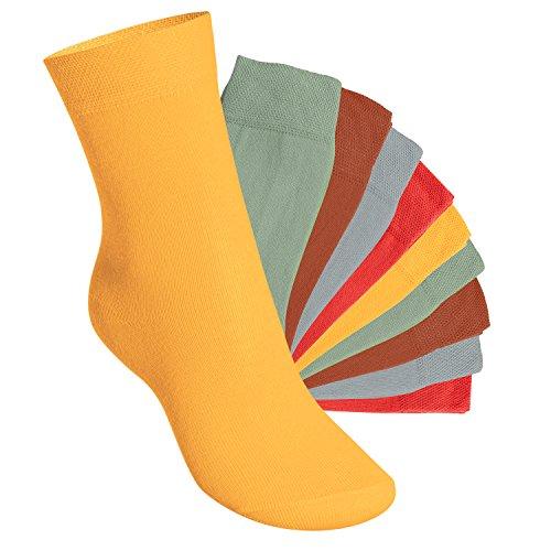 10 Paar original EVERYDAY! KIDS Kinder Socken von footstar für Mädchen und Jungen - Viele Farben und Größen 23-34 wählbar! - Qualität von celodoro (23-26, Urban Camouflage) (Camouflage-mädchen-socken)