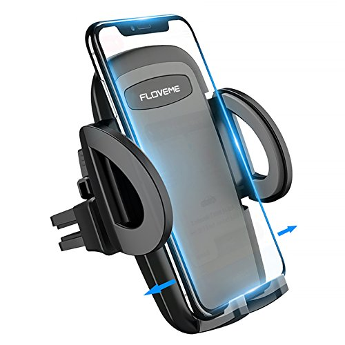 Price comparison product image FLOVEME Car Phone Holder,  Phone Holder for Car Air Vent Car Ventilation Holder for Iphone X / 8 / 8P / 7 / 6 / 5s,  Samsung S9 / S8 / S7,  Note8 / 5,  HTC,  LG etc.