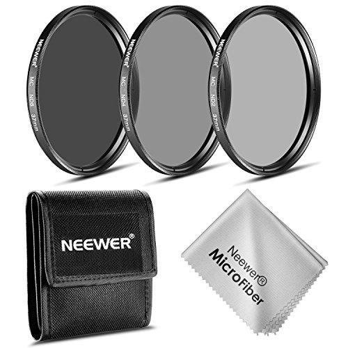 Neewer® 37MM Neutraldichte Fotografie Filter-Set (ND2 ND4 ND8) + Reinigungstuch für die Olympus PEN E-PL2 E-PL3 E-PL5 E-PL6 und OM-D E-M10 Kompaktkameras w / 14-42mm f / 3.5- 5.6 II Zoom-Objektiv