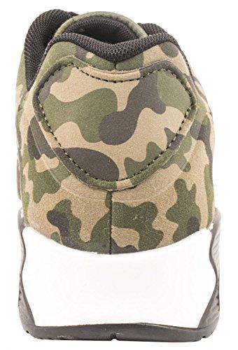 Elara Hochwertige Sneaker | Bequeme Herren Low Top Sportschuhe | Moderne Laufschuhe Turnschuhe | chunkyrayan Camouflage