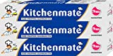 #4: Kitchen Mate Foil - 9 m (Pack of 3)