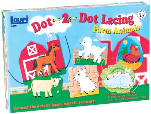 PATCH PRODUCTOS DOT 2 DOT CORDONES KIT FARM ANIMALES  OTROS  MULTICOLOR