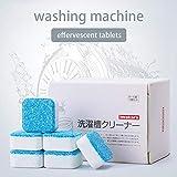 Youbeny 30PCS Washing Machine Cleaner, Washer Decontamination Cleaning Detergent Solid Effervescent Tablet Deep Descaler - Keep Your Washer Fresh, 10/20/30pcs Astonishing