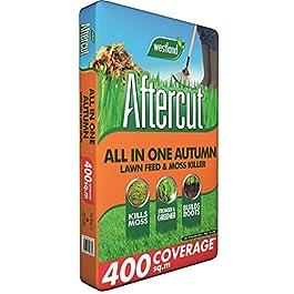 Aftercut tout en un Automne Entretien de la pelouse (Gazon Engrais et anti-mousse), 400M2, 12.8kg