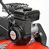HECHT 5654 Rasen-Lüfter Motorvertikutierer (3,5 PS, 38 cm Arbeitsbreite, 6-fache zentrale Höhenverstellung, 40 Liter Fangkorb) - 7