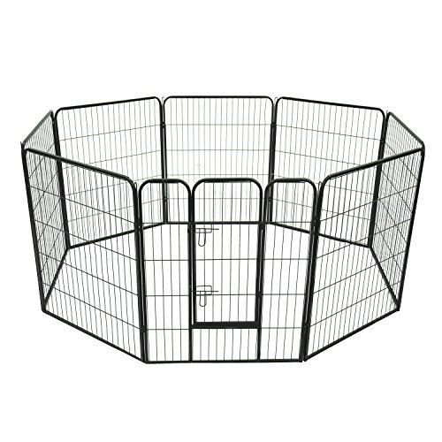 Outsunny PawHut Recinto Modulare per Cani Dimensioni 80x100cm