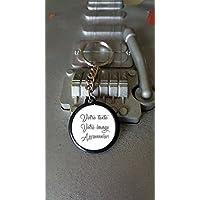 Porte clé 25 mm Personnalisable