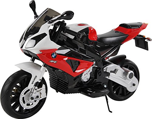 BMW Kinder 1000 RR Ride On Elektro Akku Sport Pocket Motor Bike 12 V – Rot