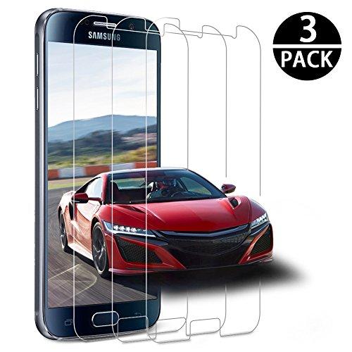 Samsung Galaxy S6 Protector de Pantalla,[3 Unidades] Genki Samsung Galaxy S6 Protector...