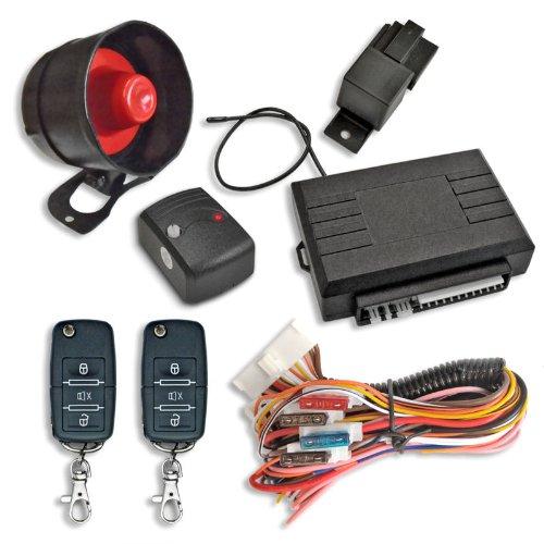 Alarmanlage mit Funkfernbedienung für Auto PKW Universal z.B. Opel, Audi, VW, Mercedes, BMW, Hyundai, Toyota, Chevrolet und andere (Toyota-auto-alarm)