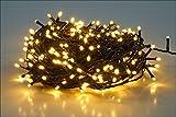 LED Lichterkette mit 320 LEDs - warmweiß - für den Innen- und Außenbereich (27m - 320 LED)