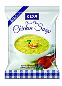 Keya Sweet Corn Chicken Soup Powder, 52g