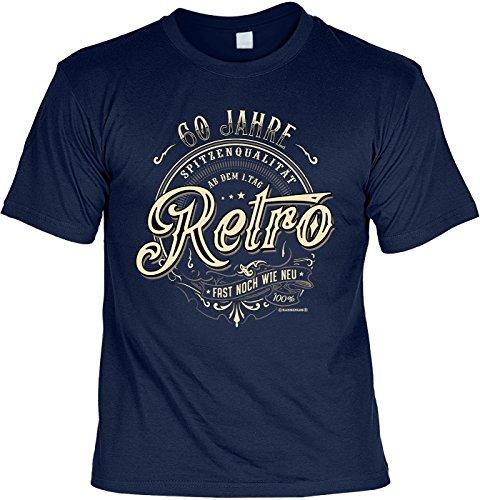 smurfbay Geburtstag T-Shirt - 60 Jahre Retro Fast -