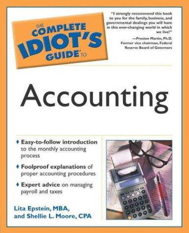 The Complete Idiot's Guide to Accounting par Lita Epstein