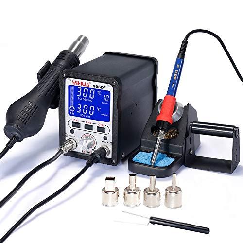 italtronik–Lötstation Yihua 995D + Digital mit Speichermodule Heißluft Profi