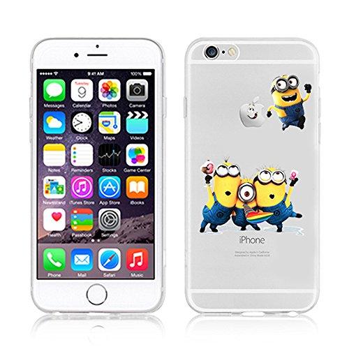 Coque souple pour Apple iPhone 4/4S, 5/5S/SE, 5C, 6/6S et 6Plus Motif Minion, plastique, MINIONS 1, Apple iPhone 5/5s