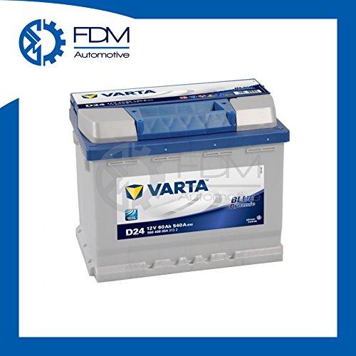 BATTERIA VARTA BLUE DYNAMIC D24 60Ah 540A 12V - POSITIVO A DESTRA