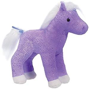 Cuddle Toys 114318cm de Altura Cristal Morado Sparkle Caballo de Peluche