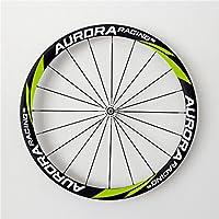 Aurora Racing Super Leggero Clincher 38C-25mm ruota carbonio bicicletta Cheap con DT SWISS Mozzo freno basalto - 130 Mm Mozzo Posteriore