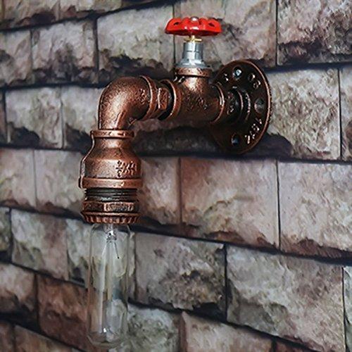 Aplique de pared de tubo de agua