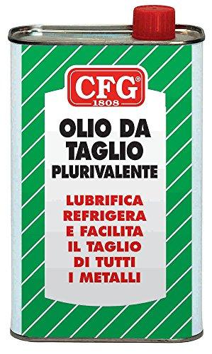 CFG - OLIO DA TAGLIO PLURIVALENTE LUBRIFICA REFRIGERA E FACILITA IL TAGLIO DI QUALSIASI METALLO