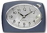 Krippl-Watches Analoger Quarzwecker, Farbe:Blau