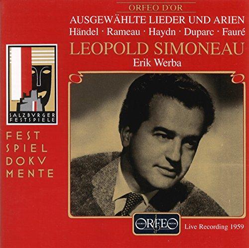 Simoneau : Salzburger Liederabend